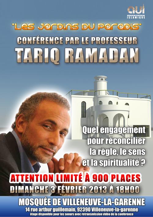 Les jardins du paradis avec Tariq ramadan